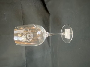 Wine Glass with Swirl