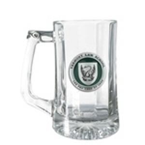 Glass Mug with Thumb Piece