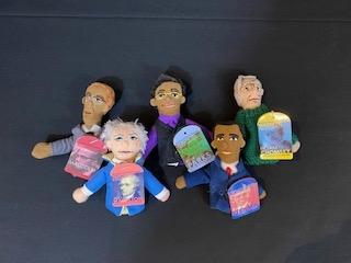 Historical Finger Puppet Figures