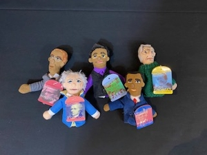 Historical Finger Puppet Figures