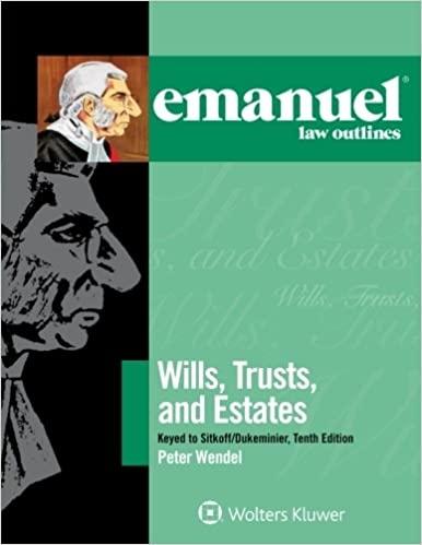 Emanuel Wills, Trusts, and Estates