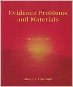 Evidence Problems and Materials - USED
