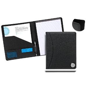 Medallion Zip Around Meeting Folder