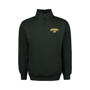 Cool Down 1/4 Zip - Forest Green