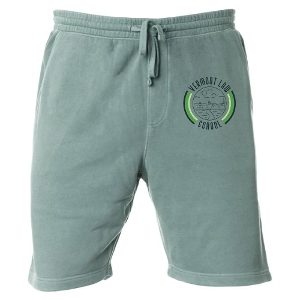 Sweatpant Short in Alpine Green