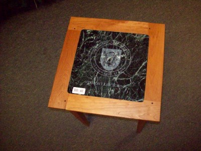 Furniture On Made Beautiful Side Table Made In Vermont Marble Top